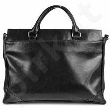 DAN-A T68 juoda rankinė iš natūralios odos , moteriška