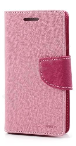 Samsung Galaxy A3 dėklas FANCY Mercury rožinis/hot rožinis