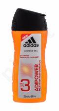 Adidas AdiPower, dušo želė vyrams, 250ml