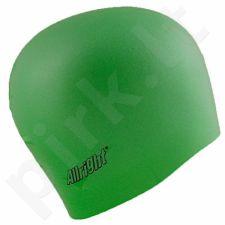 Maudymosi kepuraitė Allright silikoninė žalia