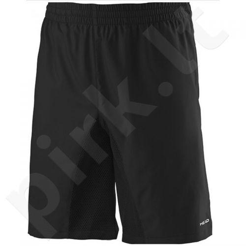 Šortai tenisui Head Club M Bermuda M 811635 juodas