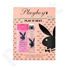 Playboy Play It Sexy rinkinys moterims, (dezodorantas 150ml + 250ml dušo želė)