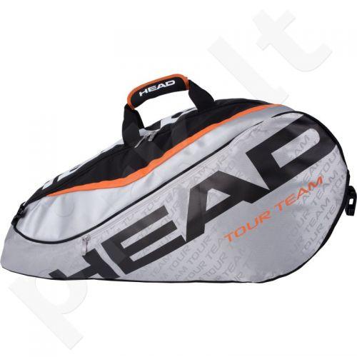 Krepšys tenisui Head Tour Team 9R Supercombi 283226 pilkas