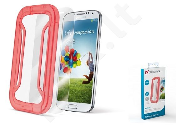 Samsung Galaxy S4 ekrano plėvelė  PERFETTO Cellular permatoma