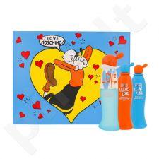 Moschino I Love Love rinkinys moterims, (EDT 30 ml + kūno losjonas 25 ml + dušo želė 25 ml)