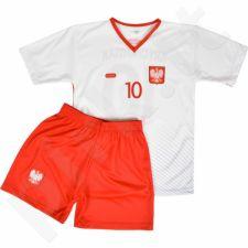 Komplektas futbolininkui Reda Polska Lewandowski 9 Junior