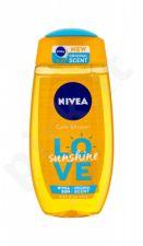 Nivea Love Sunshine, dušo želė moterims, 250ml