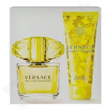 Versace Yellow Diamond rinkinys moterims, (EDT 90ml + 100ml kūno losjonas)