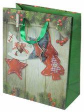 Dovanų maišelis Christmas & Stars Medium