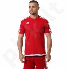 Marškinėliai futbolui Adidas Tiro15 Tee M64072