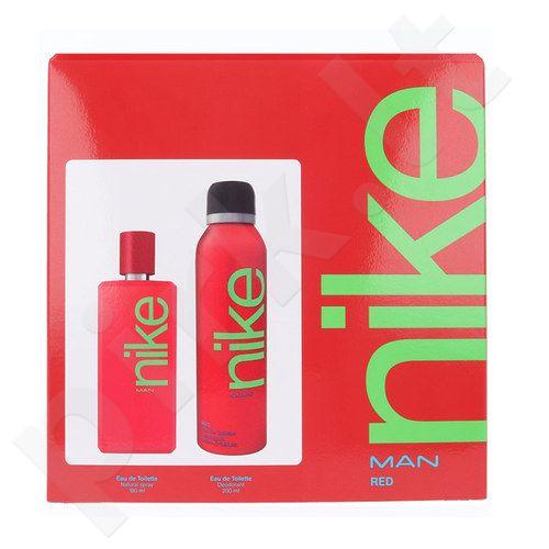 Nike Red Man rinkinys vyrams, (EDT 100ml + 200ml dezodorantas)