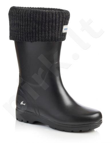 Natūralaus kaukmedžio guminiai batai su pašiltinimu VIKING MIRA JR WARM (1-23130-77)