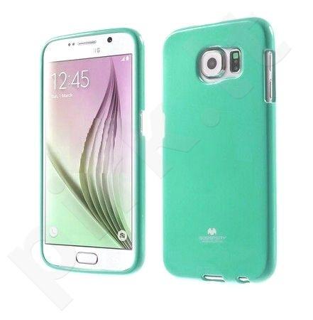 Samsung Galaxy S6 dėklas JELLY Mercury mėtinis