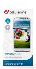 Samsung Galaxy S4 ekrano plėvelė  OK DISPLAY Cellular permatoma