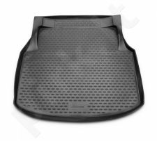 Guminis bagažinės kilimėlis MERCEDES-BENZ С-Class W204 2007-2011 sedan black /N25018