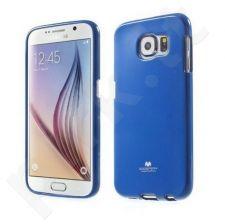Samsung Galaxy S6 dėklas JELLY Mercury tamsiai mėlynas