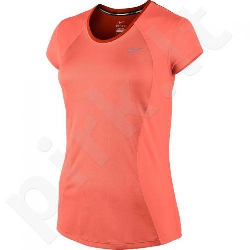 Marškinėliai bėgimui  Nike Racer Short Sleeve W 645443-680