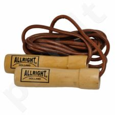 Šokdynė odinė Allright su guoliu 2,4m
