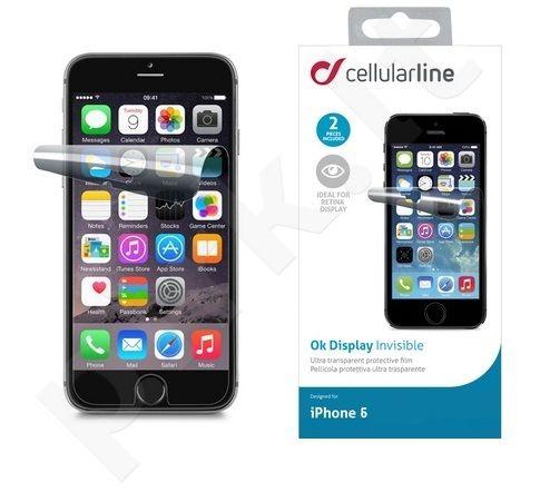 Apple iPhone 6/6S  Plus ekrano plėvelė  OK DISPLAY Cellular permatoma