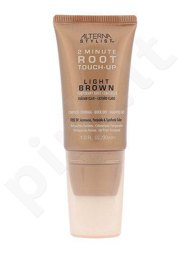 Alterna Stylist 2 Minute Root Touch-Up ataugusių plaukų maskuoklis, kosmetika moterims, 30ml, (Light Brown)