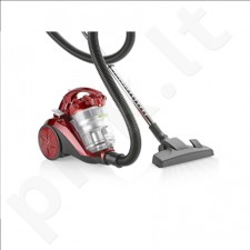 Tristar SZ-2131  Multi cyclone vacuum cleaner, Red, 800 W, 2 L, B, B, F, E, 75 dB,