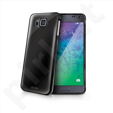 Celly TPU case for Samsung Galaxy Alpha (Black)