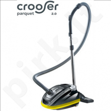 Thomas CROOSER PARQUET 2.0 Vacuum cleaner, Black/ yellow, 650 W, 3,5 L, A, A, C, A, 71 dB,