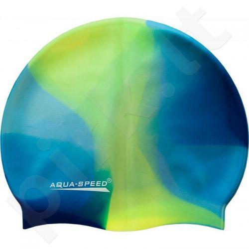 Maudymosi kepuraitė  Aqua-Speed Bunt 41 mėlyna-žalia