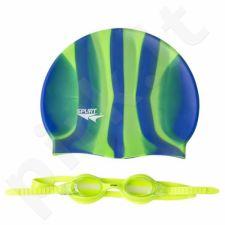 Plaukimo rinkinys ZEBRA SPURT SET SIL-20 AF L.GREEN + MI 4