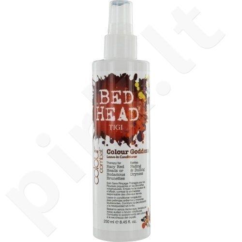 Nenuplaunamas plaukų kondicionierius Tigi Bed Head Combat Colour Goddess Leave In, 250ml