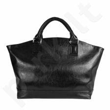 DAN-A T221 juoda rankinė iš natūralios odos , moteriška