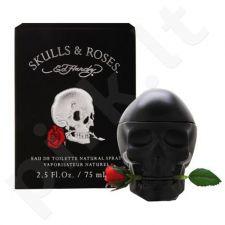Christian Audigier Ed Hardy Skulls & Roses, EDT vyrams, 100ml