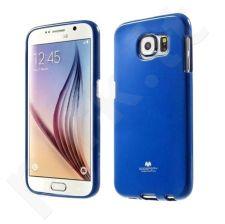 Samsung Galaxy S6 Edge dėklas JELLY Mercury tamsiai mėlynas