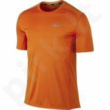 Marškinėliai bėgimui  Nike Dry Miler Top M 833591-867