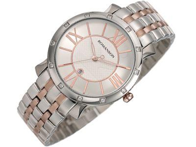 Romanson Modern TM1256QL1JA16R moteriškas laikrodis