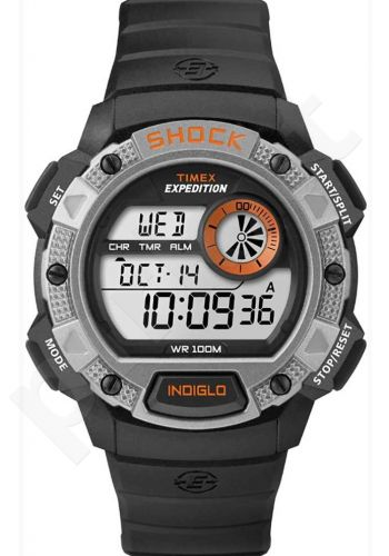 Laikrodis TIMEX EXPEDITION- INDIGLO- WR:10ATM-