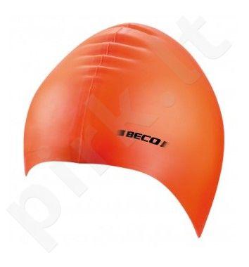 Kepuraitė plaukimo unisex silikoninė 7390 03 orange