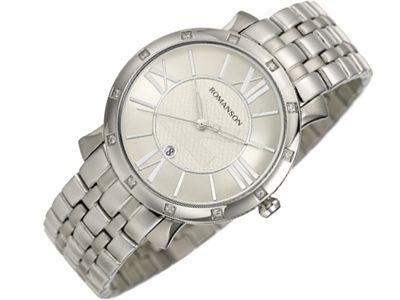Romanson Modern TM1256QL1WA12W moteriškas laikrodis