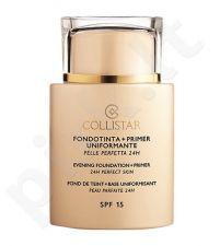 Collistar Evening Foundation + Primer SPF 15, makiažo pagrindas, kosmetika moterims, 35ml, (1)