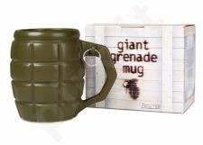 Gigantiškas granatos formos puodelis