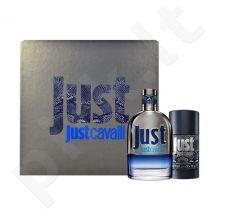 Roberto Cavalli Just Cavalli for Him rinkinys vyrams, (EDT 50ml + 75ml pieštukinis dezodorantas) [pažeista pakuotė]