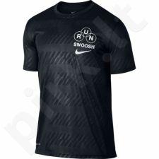 Marškinėliai Nike DRY TEE LGD RUN SWOOSH M 839228-010