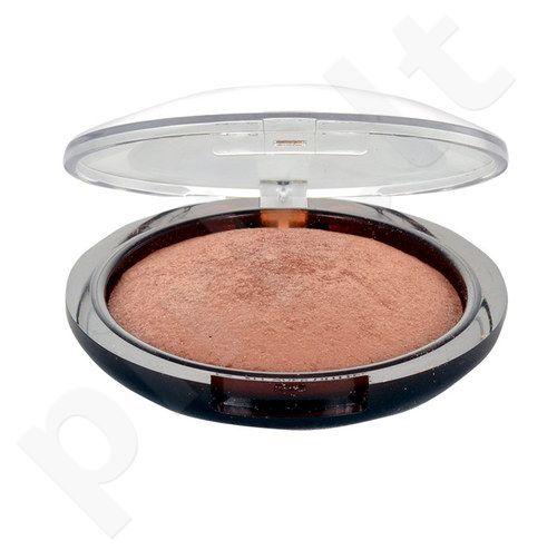 Rimmel London Sun Shimmer Baked bronzinė veido pudra, kosmetika moterims, 7,6g, (001 Summer Mood)