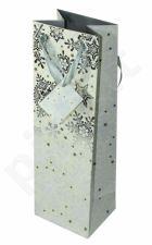 Dovanų maišelis Premium Glowing Stars Silver Bottle