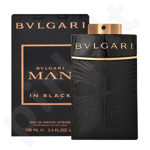 Bvlgari Man in Black All Black Edition, EDP vyrams, 100ml