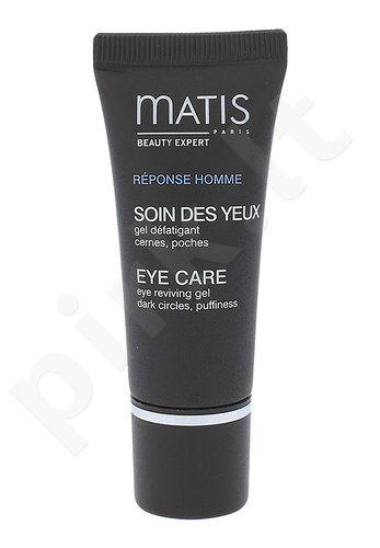 Matis Réponse Homme Eye Care akių atkuriamasis gelis, kosmetika vyrams, 15ml