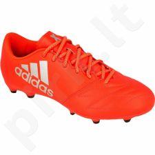 Futbolo bateliai Adidas  x16.3 FG M Leather S79495