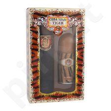 Cuba Tiger rinkinys moterims, (EDP 100 ml + dezodorantas 50 ml)