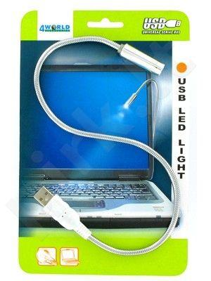 4World Lempa USB nešiojamam kompiuteriui