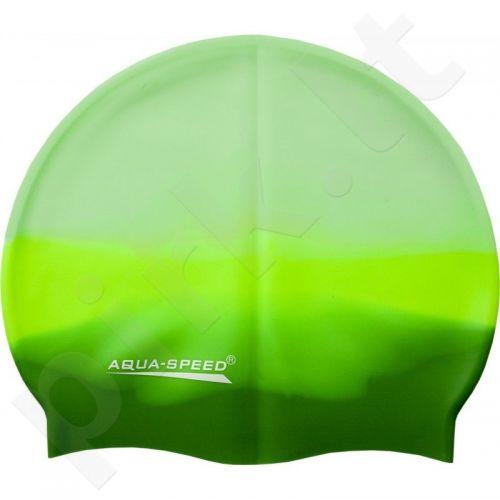 Maudymosi kepuraitė  Aqua-Speed Bunt 72 žalia